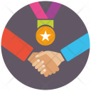 Relation Agreement Solution Icon