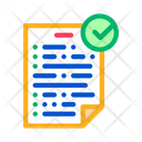 Agreement Contract Document Icon