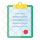 Agreement Contract Record Icon