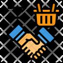 Agreement Hand Handshake Icon