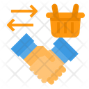 Agreement Hand Handshake Icon