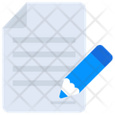 Agreement File Data Icon