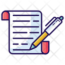 Deed Contract Policy Icon