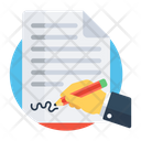 Agreement Deed Contract Icon