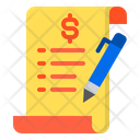File Document Bill Icon