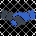 Agreement Deal Handshake Icon