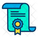 Contract Document Agreement Papers Icon