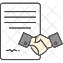 Agreement Deal Partnership Icon