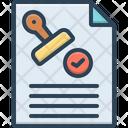 Agreement Annexure Bond Icon