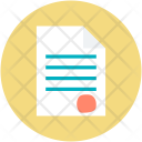 Agreement Paper Business Icon