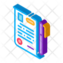 Signature Paper Notary Icon