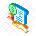 Cash Purchase Agreement Icon