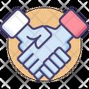 Agreement Hansshake Deal Icon