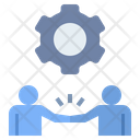 Agreement Business Collaboration Icon