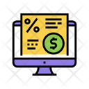 Electronic Investment Agreement Icon