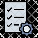 Agreement Checklist Performance Icon