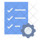 Agreement Checklist Performance Icon