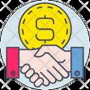Business Money Agreement Icon