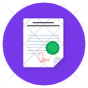 Agreement Contract Conditions Icon