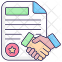 Handshake Agreement Deal Icon