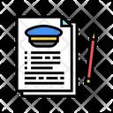 Agreement Education Flight Icon