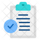Agreement Clipboard Icon