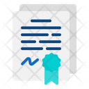Agreement Document Agreement Document Icon