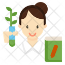 Agricultural Consultant Botanist Icon