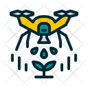 Agricultural Drone Icon
