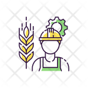 Agricultural Engineer Icon