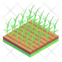 Agricultural Farming Agriculture Fields Icon