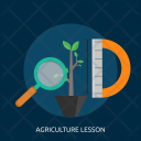 Agriculture Lesson Education Icon