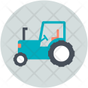 Agriculture Farm Tractor Icon