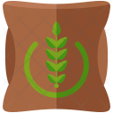 Agriculture Fertilizer Bag Icon