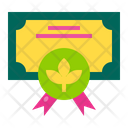 Agriculture Certificate Icon