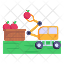 Agriculture Robot Icon