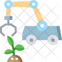 Agriculture Robots Icon