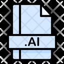 Ai File File Extension Icon