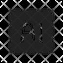 Ai Illustrator Vector Icon