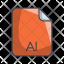 Ai Image File Icon