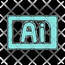 Ai Illustrator File Format Icon