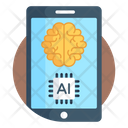 Ai Artificial Intelligence Mobile Ai Icon