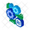 Brain Computer Science Icon
