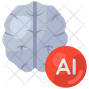 Ai Artificial Intelligence Brain Icon