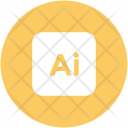 Ai Square Abbreviation Icon
