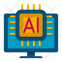 Ai Ai Robot Robotics Icon