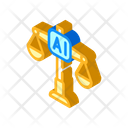 Scales Artificial Intelligence Icon
