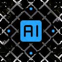 Ai Based Fintech Icon