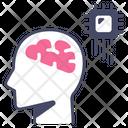 Technology Ai Brain Icon