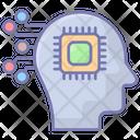 Ai Brain Robotics Icon